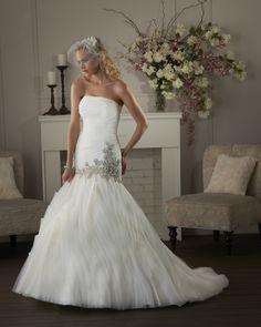 Organza Sleeveless Lace-up Wedding Dresses 2014 Bonny Bridal Wedding Dresses, Mermaid Trumpet Wedding Dresses, Elegant Wedding Gowns, Wedding Dresses 2014, Wedding Dress Sizes, Bridesmaid Dresses, Bridal Gown, Mermaid Wedding, Wedding Dresses Australia