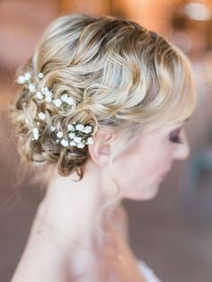 Beautiful wedding day hairstyle / Jennifer Clapp Photography