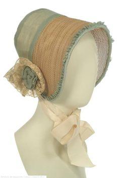 Bonnet 1840s Spain