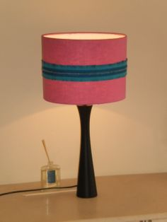 Lampshade Commission x2 matching shades for a client during 2012. Designed and made by Grainne Kenny @ Grainne Kenny Design