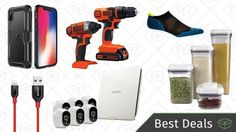 Wednesday's Best Deals: iPhone X Accessories DIY Espresso Black & Decker Tools and More