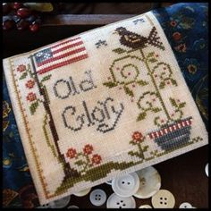 Old Glory is the title of this new release from Little House Needleworks. Please note ship lead times (which I hope is less than noted as I ...