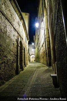passeggiando di notte per #PotenzaPicena