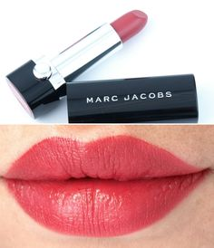 "Marc Jacobs Le Marc Lip Creme Lipstick in ""So Sofia"", ""Rei of Light"" & ""Je T'Aime"": Review and Swatches"