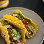 Summer Squash Tacos with Avocado Chimichurri | Cookie and Kate