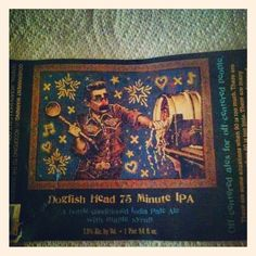 @dogfishbeer 75 Minute IPA. Excellent beer with surprisingly mild hops! 4 1/2*