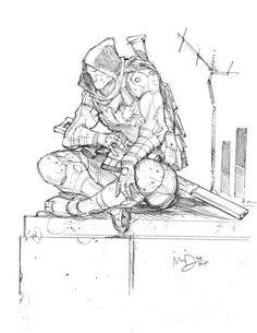 Mercenary 6 by Max-Dunbar on DeviantArt
