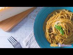 Walnuts and bacon spaghetti - Spaghetti alla crema di noci e pancetta - YouTube