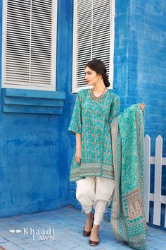 Buy Online Khaadi Printed Lawn Collection 2017 | AN Fabrics