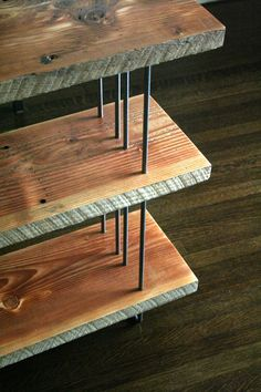 modern industrial bookcase from reclaimed old growth by birdloft