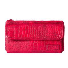 Wallet Red Croc