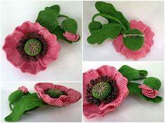 http://otstavanie.ru/shal-solomonovymi-petlyami.html  http://patronesparacrochet.blogspot.com.ar/2013/10/flores-delica...