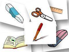 DaZ Material zur Sprachförderung in der Grundschule Bildkarten In der Schule
