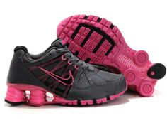 size 40 012c9 cc790 Nike Shox 2012   2012 Femmes Nike Shox NZ Chaussures Gris Rose Baskets, Nike  Shoes