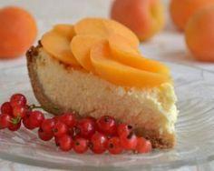 Tarte minceur sans cuisson aux abricots façon cheesecake…