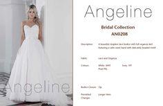 Bride dress Bridal by Anenia Lace Bodice, Bridal Collection, Bridal Dresses, Satin, Bride, Skirts, Fabric, Beautiful, Fashion