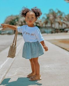 So Cute Baby, Cute Mixed Babies, Cute Black Babies, Pretty Baby, Cute Baby Clothes, Cute Little Girls Outfits, Kids Outfits Girls, Toddler Girl Outfits, Cute Kids Fashion