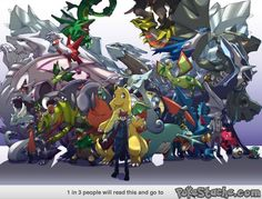 All the Dragon Pokemon and Trainers
