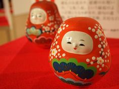 姫だるま Kanazawa Japan, Daruma Doll, Japanese Toys, Handicraft, Artworks, Clay, Display, Ceramics, Make It Yourself