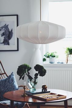 Shop Taklampa retro ECO off white 60 cm from Lampverket unika lampor & lampskärmar in Ceiling lights, available on Tictail from kr Beautiful Interior Design, Home Interior Design, Interior Decorating, Room Interior, Decorating Ideas, Vintage Industrial Decor, Vintage Decor, Industrial Style, Industrial Design