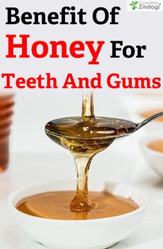 Honey for gum infection is an effective treatment because the healing properties of honey make it vital in the treatment of gum-related diseases like swollen gums and gum inflammation. Swollen Gums Remedy, Receeding Gums, Gum Inflammation, Oral Surgery, Healthy Teeth, Oral Hygiene, Oral Health, Cavities, Health And Beauty