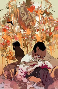 Another Day of Life by Tomer Hanuka *
