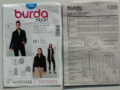 BURDA 7006