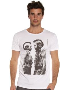 Mr T Shirt in White