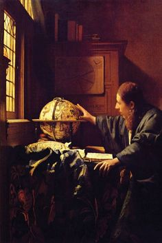 The Astronomer, by Johannes Vermeer