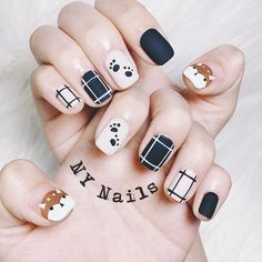 Ideas gel nails colors spring gelish for 2019 Pretty Nail Art, Cute Nail Art, Cute Nails, Soft Nails, Simple Nails, Gel Nails, Korean Nail Art, Korean Nails, Stylish Nails