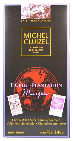 Michel Cluizel 1er Cru De Plantation Mangaro Milchschokolade 50%