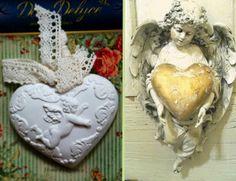 """Арома украшение """"Сердце ангела"""" с ароматом лилии"""