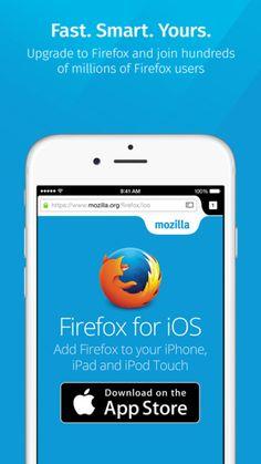 Firefox. iOS 버전으로 출시.