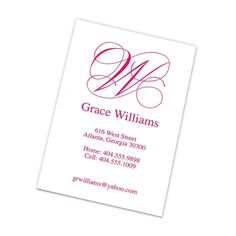 Perfect for professional or social networking - by Embossed Graphics