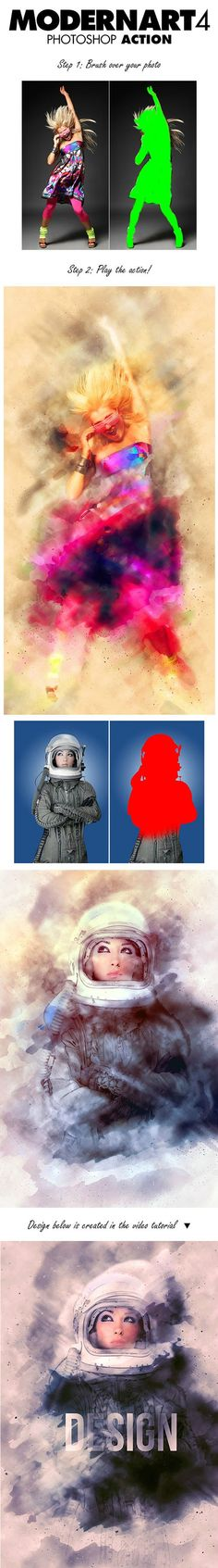 Graphicriver - ModernArt 4 Photoshop Action 11317965