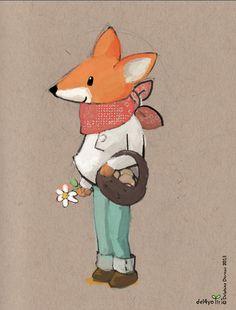 Le lapin dans la lune - Non dairy Diary - Le douxrenard