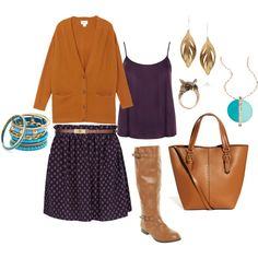 """""""Cute Fall Outfit"""" by m-bohrtz on Polyvore"""