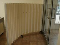 moveable partitions - corrugated theme