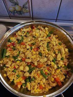 Currys zöldséges bulgur