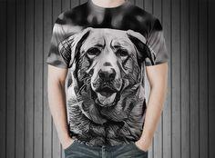 T-Shirt - Dog pet animal cute canine puppy https://www.donateprint.com/products/600001705124