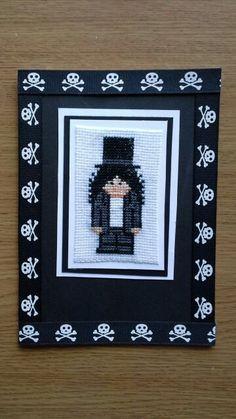 God of rock. Slash in cross stitch \w/ xxx