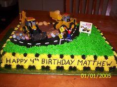 Construction Cake Idea