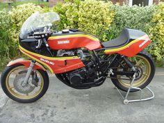 1979 Suzuki Ex-Barry Sheene Rennrad - Rennräder Suzuki Motorcycle, Racing Motorcycles, Bikes For Sale, Motogp, Le Mans, Motorbikes, Sports, Cafe Racers, Grand Prix