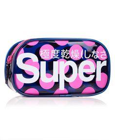 Superdry Trousse Polka Neon