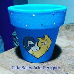 Vasinho com 12cm by Cida Sales Arte Designer