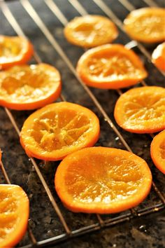 Naranjas confitadas   el blog de Ana H