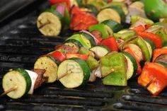 Cajun Grilled Vegetables - 1 1/2 C high heat vegetable oil, 5 T Tony Cheschares Creole Spice, vegetables of choice.  Mix oil and Creole spice and vegetables coating them with the cajun spice.  Skewer Vegetables and grill.  Wonderful!