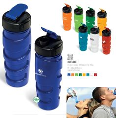 Locally manufactured water bottles made in South Africa - Sports Bottles Promotional Products Water Bottles, Drink Bottles, Sports Bottles, Bottle Manufacturers, Cascade Water, Health Products, Corporate Gifts, Drinkware, South Africa