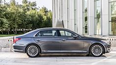 Check out the all new 2017 Hyundai Genesis G90. #hyundai #luxury #newcars BASE PRICE: $73,000 (projection) DRIVETRAIN: 3.3-liter twin-turbo V6, 5.0-liter V8, eight-speed torque converter automatic, rear- or all-wheel drive OUTPUT: 365 hp @ 6,000 rpm, 376 lb-ft from 1,300 (V6); 420 hp @ 6,000 rpm, 383 lb-ft @ 5,000 rpm (V8) CURB WEIGHT: 4,630 lbs (rwd V6); 4,751 lbs (rwd V8) 0-60 MPH: 5.5 sec (est, V6); 5.1 (est, V8) FUEL ECONOMY: 17 mpg city, 24 highway   Read more: http://autoweek.com/