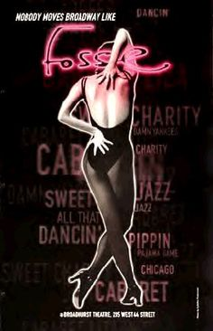 Fosse with Ann Reinking, Bebe Neuwirth and Ben Vereen. Can't do better than that!